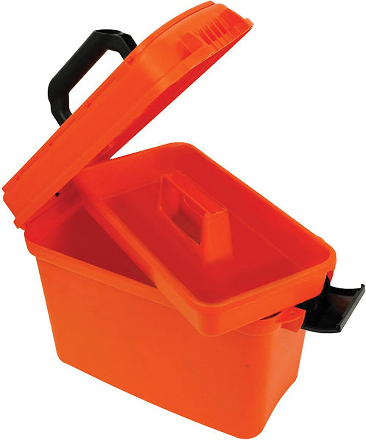Bright Safety Orange attwood 11834-1 Waterproof Boaters Dry Box