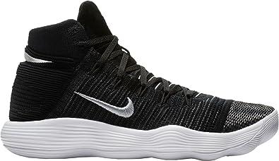 on sale dc407 bee6a Nike Hyperdunk 2017 Flyknit Size 11 Mens Basketball Shoe Black/Metallic  Silver Shoes