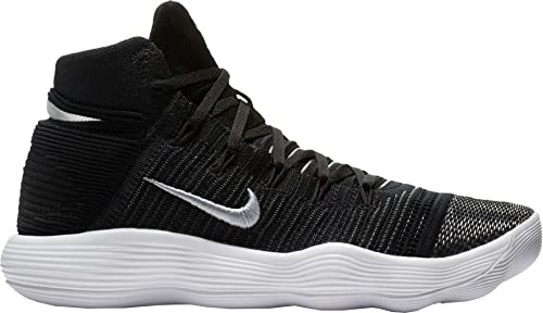 e2b6055bf5ef Nike Hyperdunk 2017 Flyknit Mens Basketball Shoes (14 D(M) US)  Black Metallic Silver  Buy Online at Low Prices in India - Amazon.in