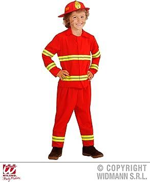 WIDMANN wdm03934 ? Disfraz para niños bombero (104 cm/2 ? 3 años ...