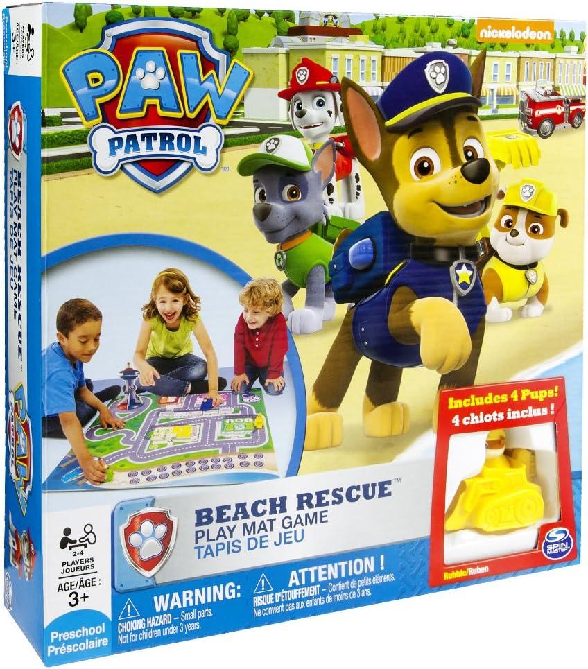 Bizak Patrulla Canina - Rescate en la Playa 61924232: Amazon.es ...