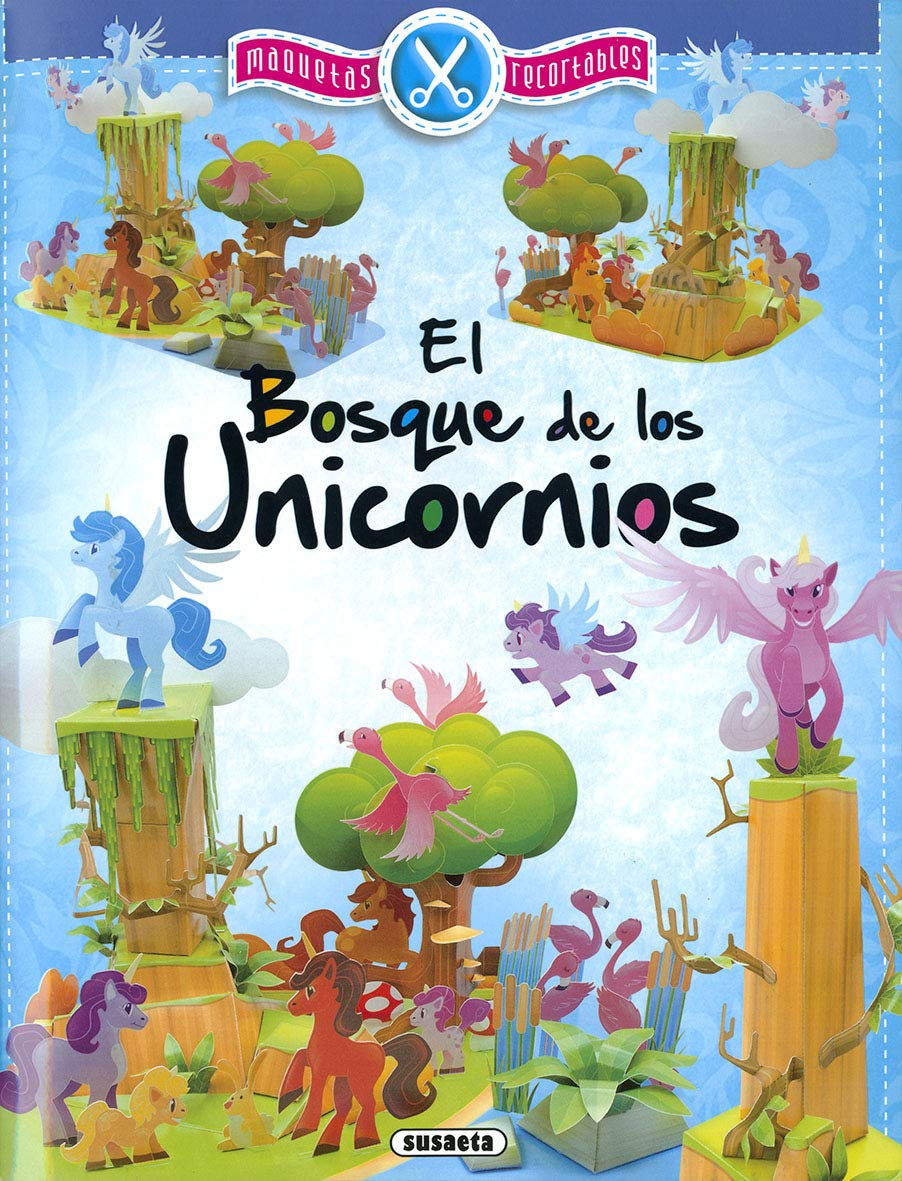 El bosque de los unicornios (Maquetas recortables): Amazon ...