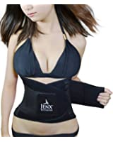 Jenx Fitness Unisex Waist Trainer Premium Quality Waist Trimmer Great Back Spine Support and Reduce Back Pain