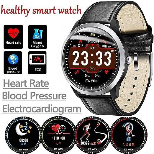 RENYAYA ECG PPG Reloj Inteligente con Electrocardiograma ECG ...