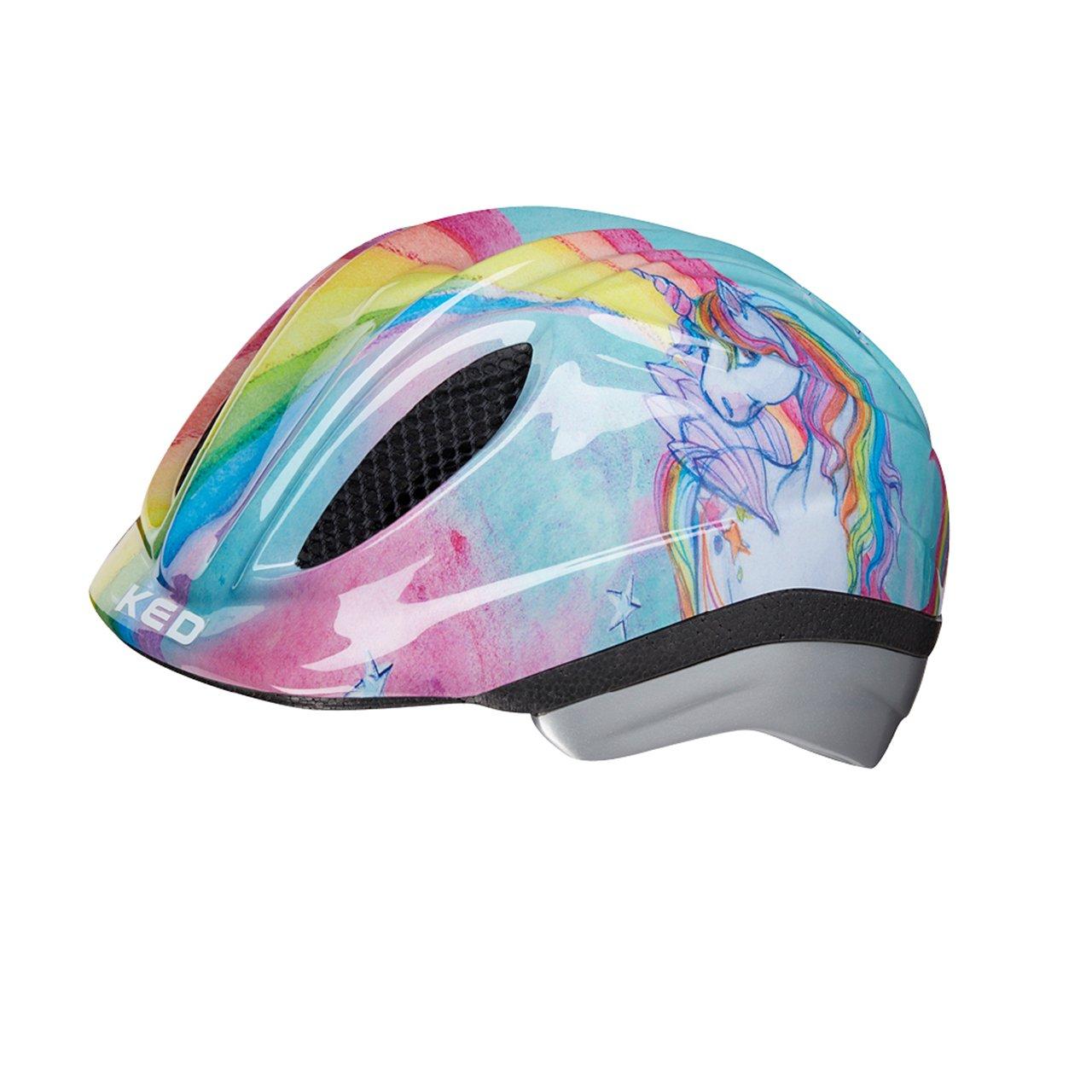 KED Meggy II Originals Helmet Kids Unicornio paraíso tamaño de la cabeza s, 46 – 51 cm 2018