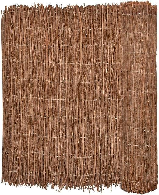 Furnituredeals Malla para cercas Valla de Brezo, 400 x 150 cm cercas para Jardin: Amazon.es: Jardín