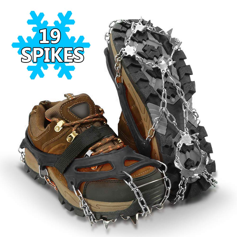 Climbing Crampons Non-Slip Traction Cleats for Climbing Hiking Ice Snow