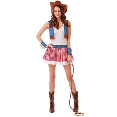 boo inc country cowgirl halloween costume for women sexy wild west dress up outfit