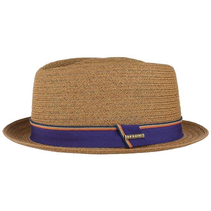Stetson Cappello di Paglia Collano Toyo Uomo  48b65f32a985