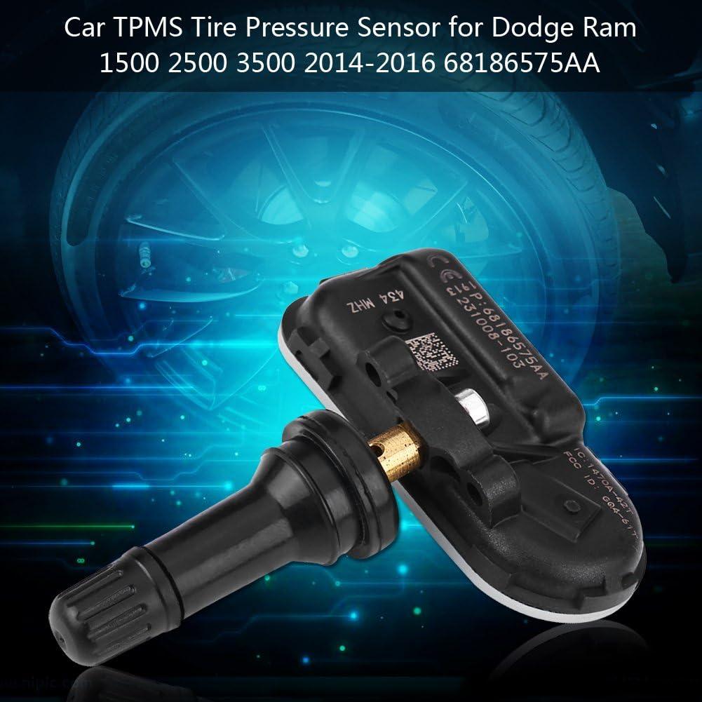 Reifendrucksensor 434 MHz f/ür 1500 2500 3500 2014-2016 6 TPMS Hilitand Reifendruckkontrollsensor