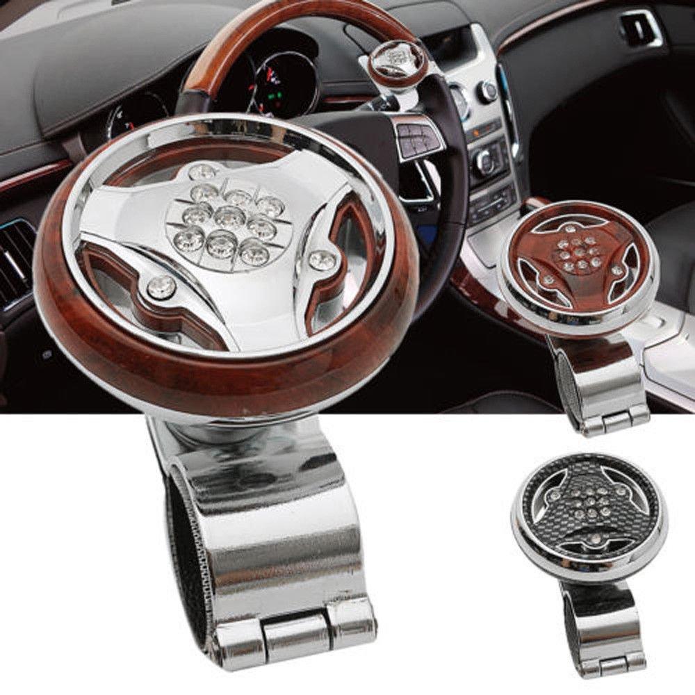 FidgetFidget Car Truck Steering Wheel Aid Power Handle Assister Spinner Knob Ball Universal