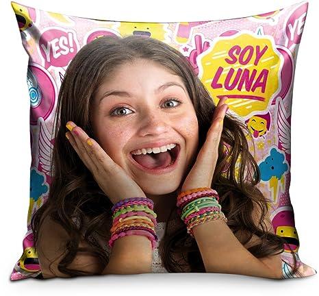 Star Licensing Disney Soy Luna Cojín, poliéster, Multicolor ...