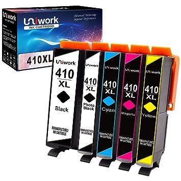 Uniwork 410XL - Cartucho de tinta remanufacturado para Epson ...