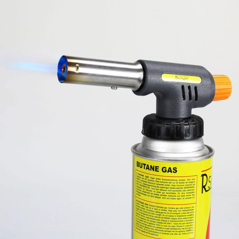 RSonic Gas de mechero Bunsen Pistola de Llamas: Amazon.es: Deportes y aire libre