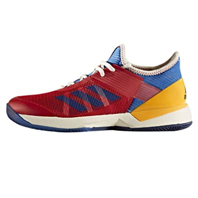 wholesale dealer 7e10d 7f2a8 Amazon.com  adidas Adizero Ubersonic 3 PW Womens Tennis Shoe  RedBlueGold  Tennis  Racquet Sports