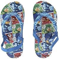 PJ Masks Super Pigiamini 2300003081 Sandali Premium, Infradito con Elastico, Gattoboy, Gufetta, Geco