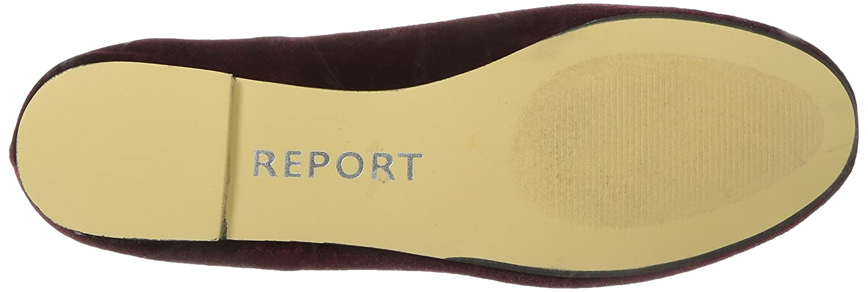 Report Schuhe Frauen Flache Schuhe Report Burgunderfarben 1271cb