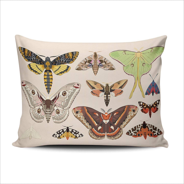Butterfly pillow custom couch pillow custom throw pillow Lumbar Pillow