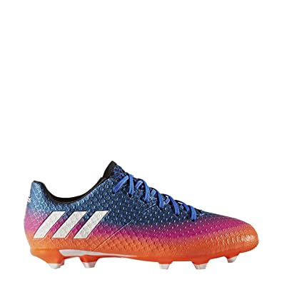 1a4a56244 adidas Messi 16.1 FG Cleat - Kid s Soccer 10.5K Blue White Solar Orange