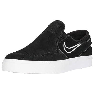Nike SB 'Zoom Stefan Janoski Slip On' BlackLight BoneWhite