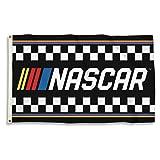 NASCAR with Stripes 3 x 5' Flag with Grommetsnascar with Stripes 3 x 5' Flag with Grommets, Black & Team