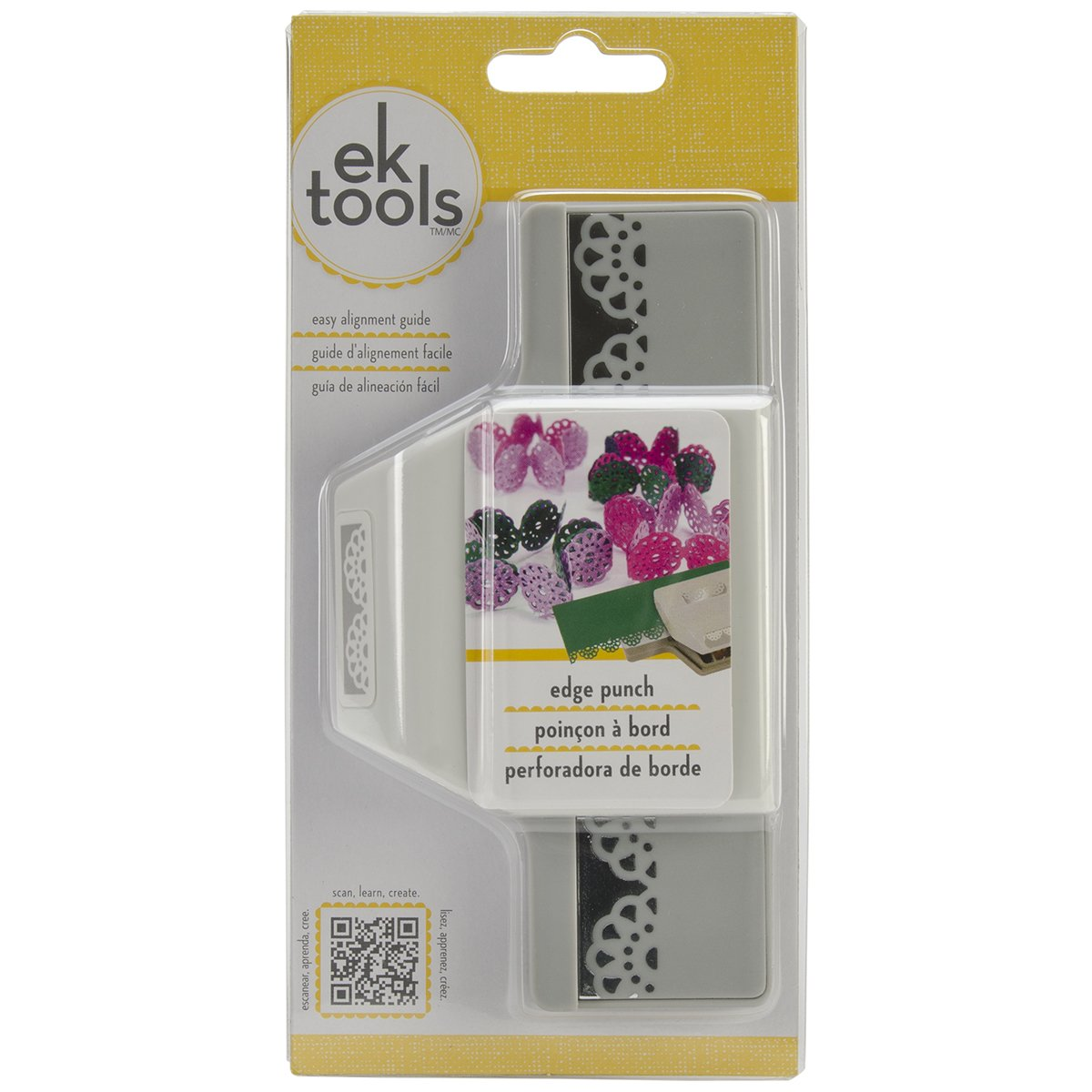 EK Tools Edge Paper Punch, Abstract Flower, New