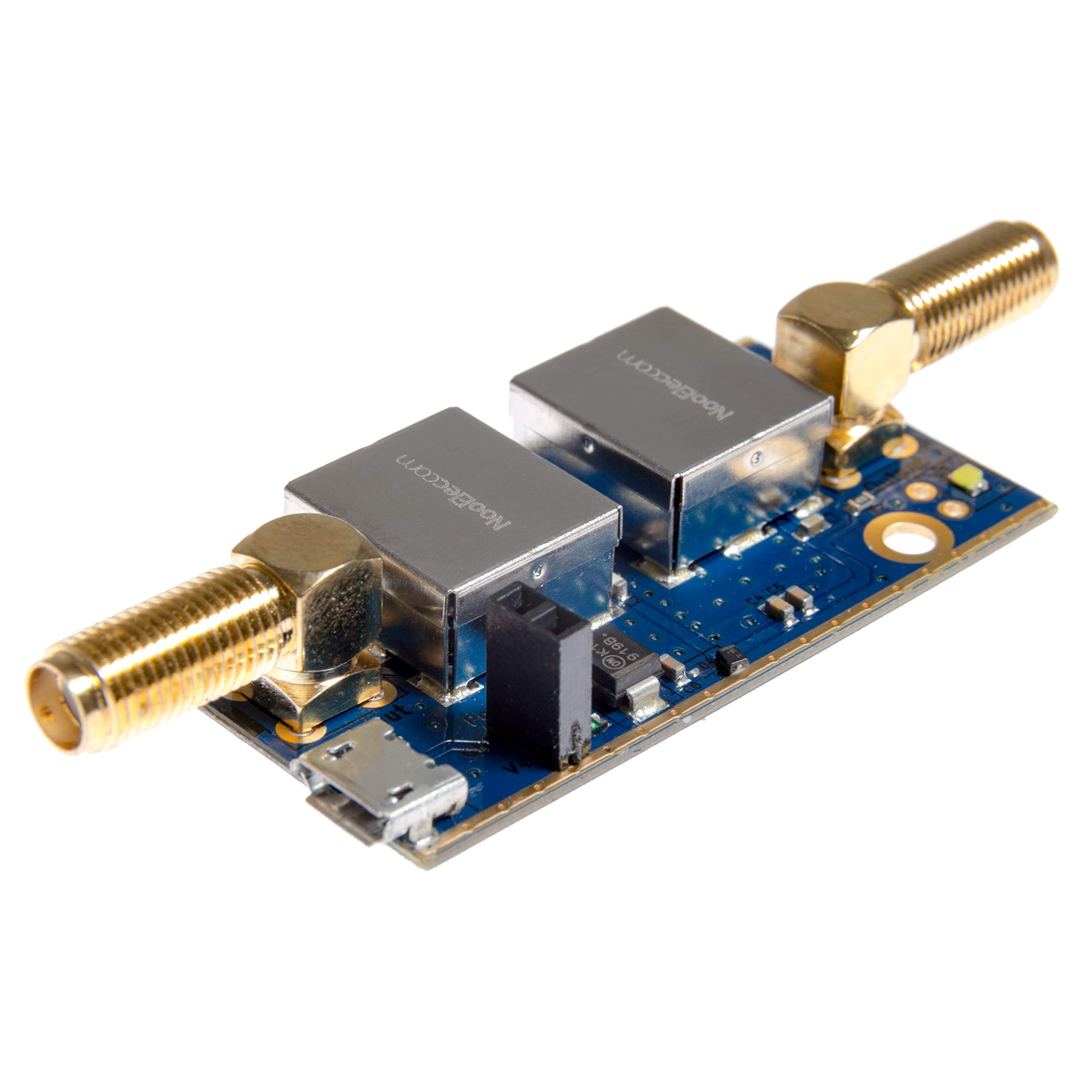 Nooelec SAWbird+ iO Barebones - Premium Saw & Cascaded Ultra-Low Noise LNA Module for Inmarsat Applications. 1542MHz Center Frequency.