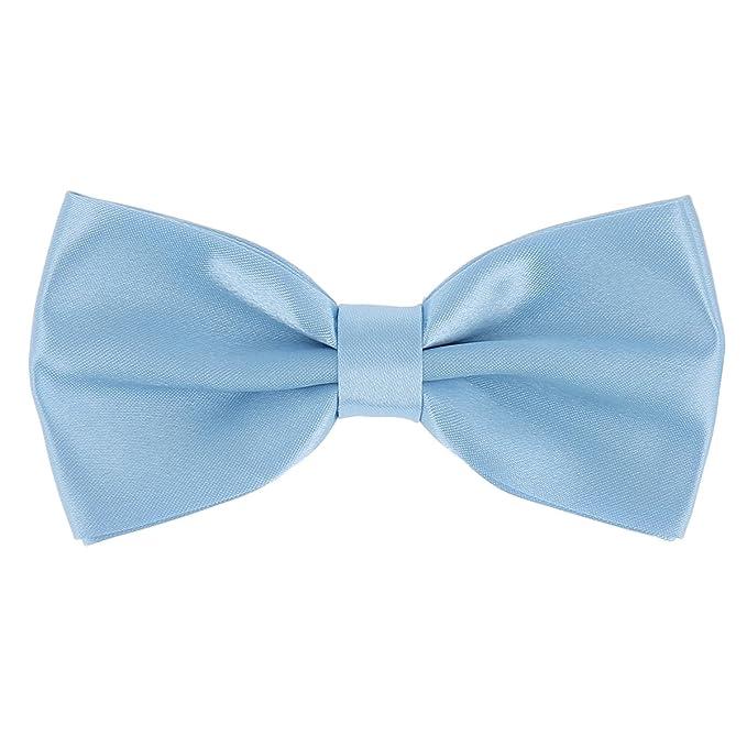 a532ee0d6 cravateSlim Pajarita Azul Celeste  Amazon.es  Ropa y accesorios