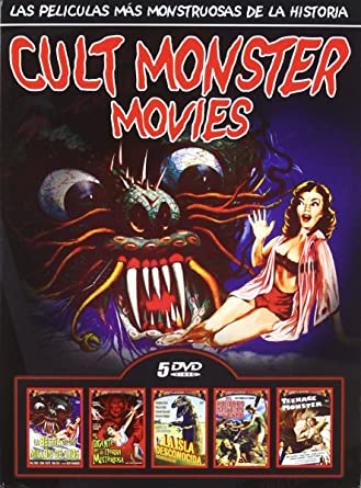 Pack cult monster 2 [DVD]: Amazon.es: Varios: Cine y Series TV
