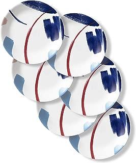 product image for Corelle Chip Resistant Lunch Plates, 6-Piece, Vivid Splash
