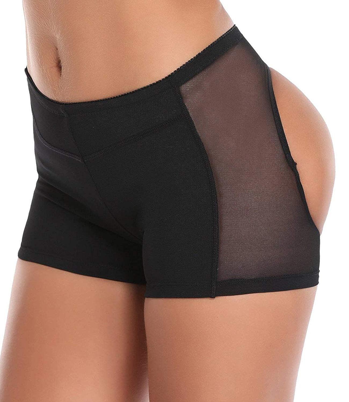 LANFEI Women's Butt Lifter Panties Body Shaper Boy Shorts Underwear CALF033