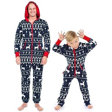 a40f55f78d1 Family Matching Christmas Pajamas Set Women Men Kids Baby Elk Print Hood Romper  Jumpsuit Hoodies Homewear Sleepwear Nightwear Outfits Tracksuit  ...