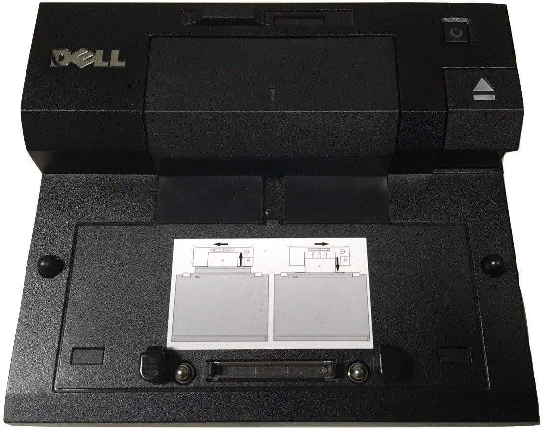 Dell E-Port Replicator PR03X with USB 3.0 and 240-Watt Power Adapter (Renewed)