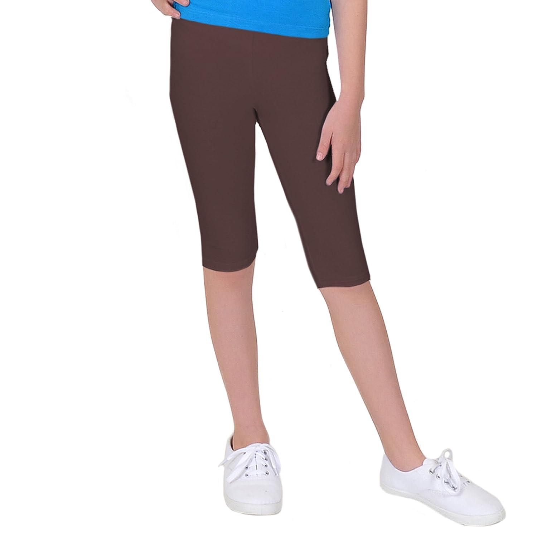 Stretch is Comfort Girl's Cotton and Rhinestone Capri Leggings P3041GRLSCPRI-$P