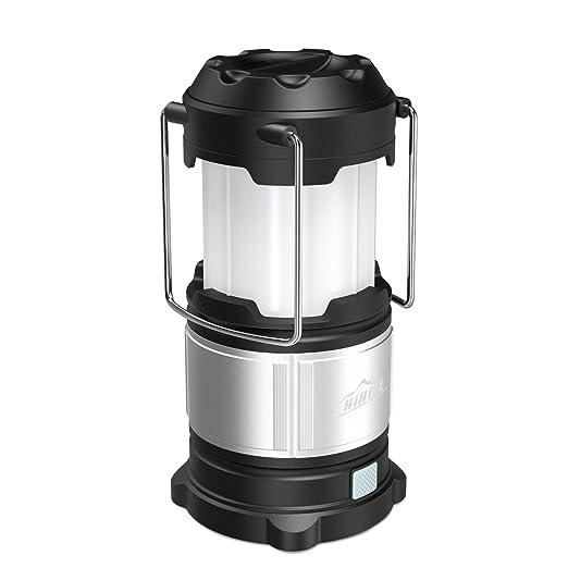 64 opinioni per HiHiLL Camping Lanterna Portatile Pieghevole 21 LED e un'Illuminazione di 360