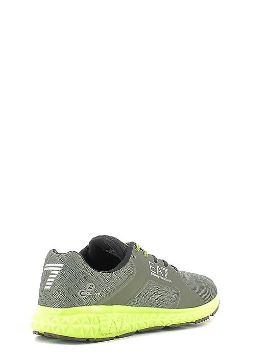 Emporio Armani EA7 Herrenschuhe Herren Schuhe Sneakers light spirit Grün:  Amazon.de: Schuhe & Handtaschen