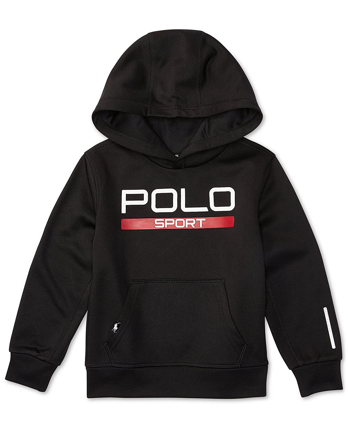 : Ralph Lauren Boys Polo Sport Fleece Hoodie: Clothing