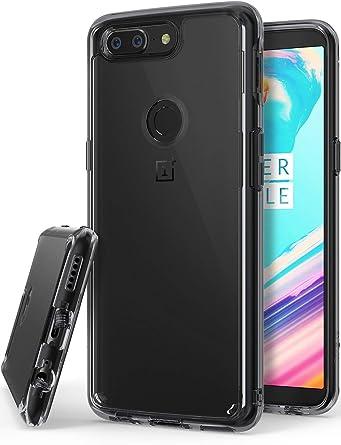 Amazon.com: Ringke FUSION para OnePlus 5T, Negro (Smoke ...
