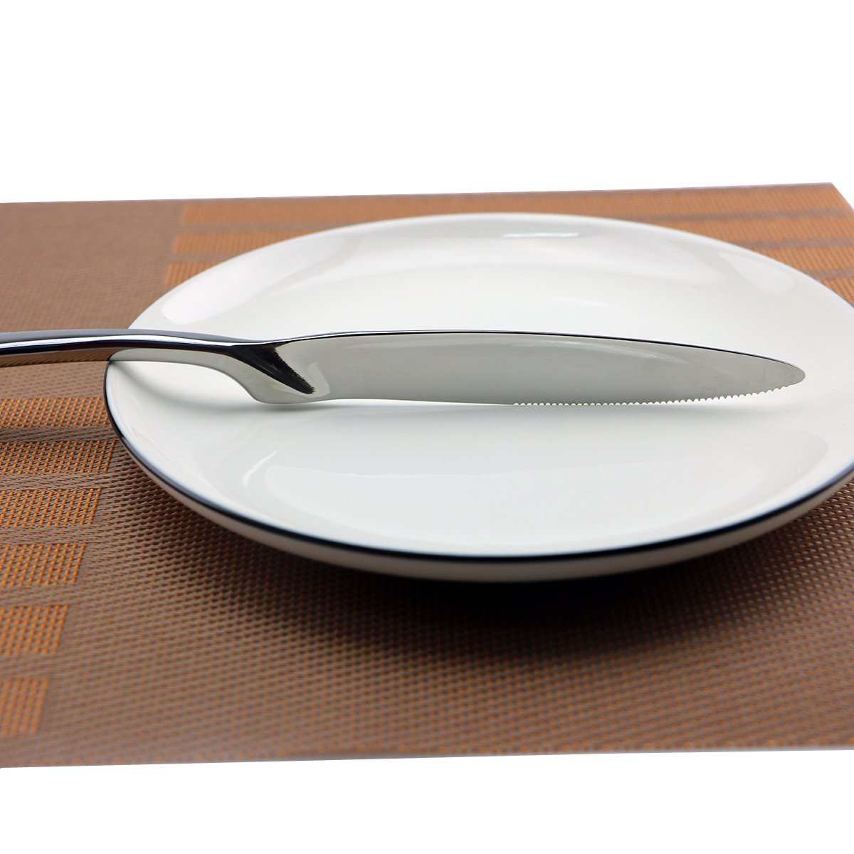 20-Piece New Western Tableware 304 Stainless Steel Dinnerware Knife Fork Spoon  sc 1 st  eBay & 20-Piece New Western Tableware 304 Stainless Steel Dinnerware Knife ...