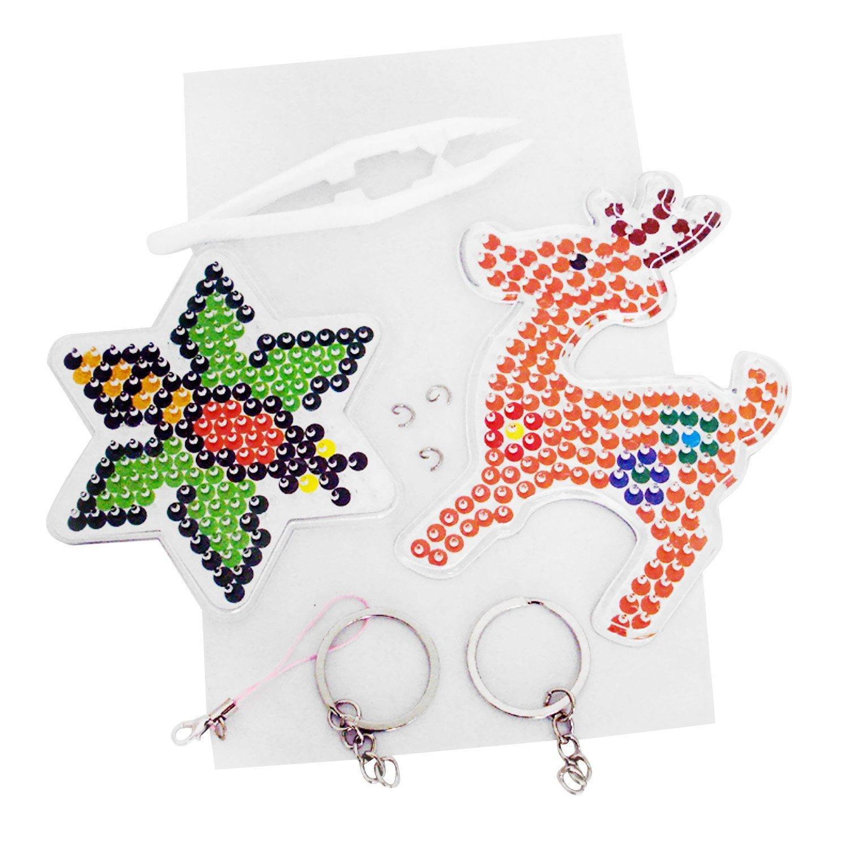 Amazon.com: Gosear 2400pcs 24 colores Mini fusible perlas ...