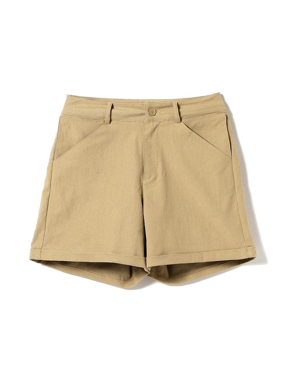 (ビームスゴルフ)BEAMS GOLF/パンツ ORANGE LABEL / 6ポケット ショート パンツ レディース XS ベージュ B07QG96WHJ