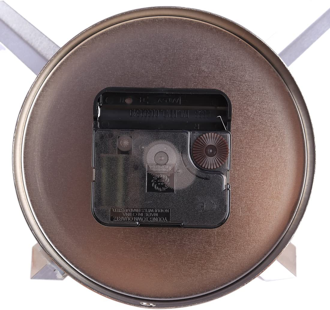 Vintage Quarzuhrwerk Lautlos Schleichendes DIY Uhrwerk mit 2 Zeiger-Sets Golden Batop Gro/ß Uhrwerk f/ür Wanduhr