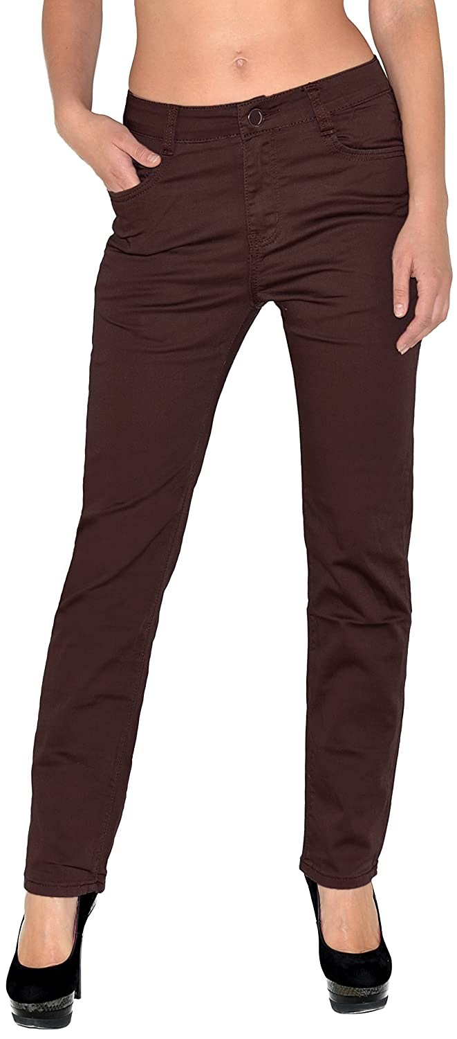 by-tex Womens Jeans Womens High Waist Plus Size Jeans Ladies Big Size Jeggings T_101