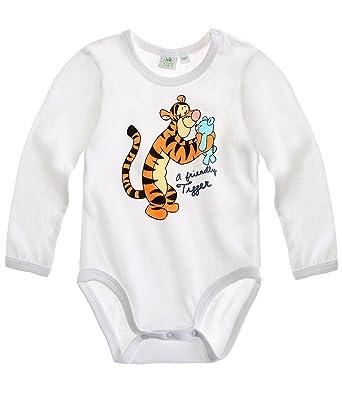 cc6e746f3cec7 Disney Tigger Baby body white (24 month): Amazon.co.uk: Clothing