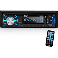 $37 » Pyle Marine Bluetooth Stereo Radio - 12v Single DIN Style Boat In dash Radio Receiver…