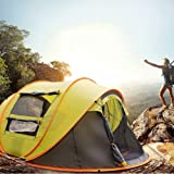 Wnnideo Automatic Tents for Camping 2 to 4 person Pop Up Tent Instant Family Tent for Hiking Beach Ourdoor