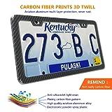Aootf Carbon Fiber License Plate Frame Extra