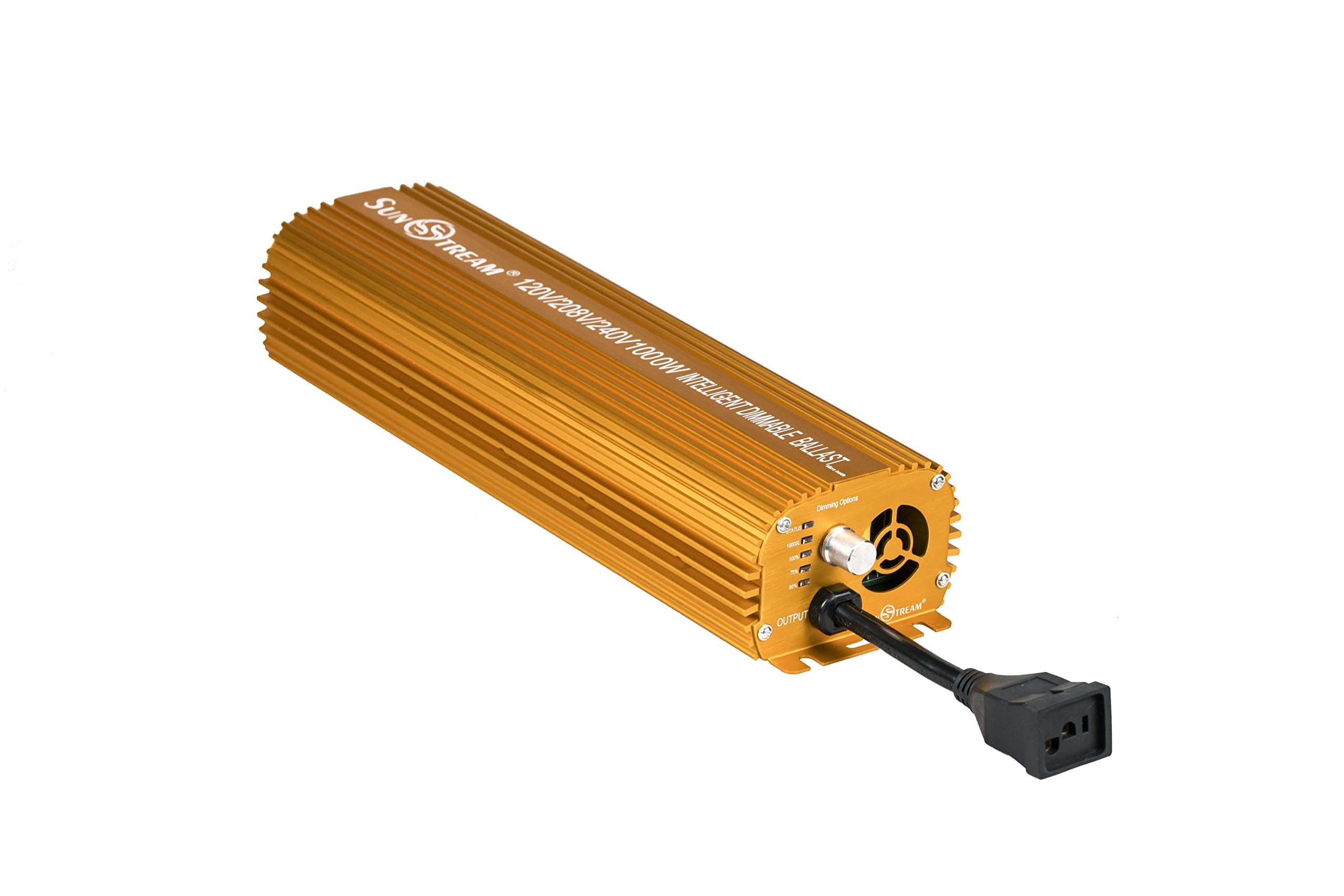 SunStream 1000 Watt Dimmable Electronic Ballast for Grow Lights MH/HPS (1000w) (Full Version)