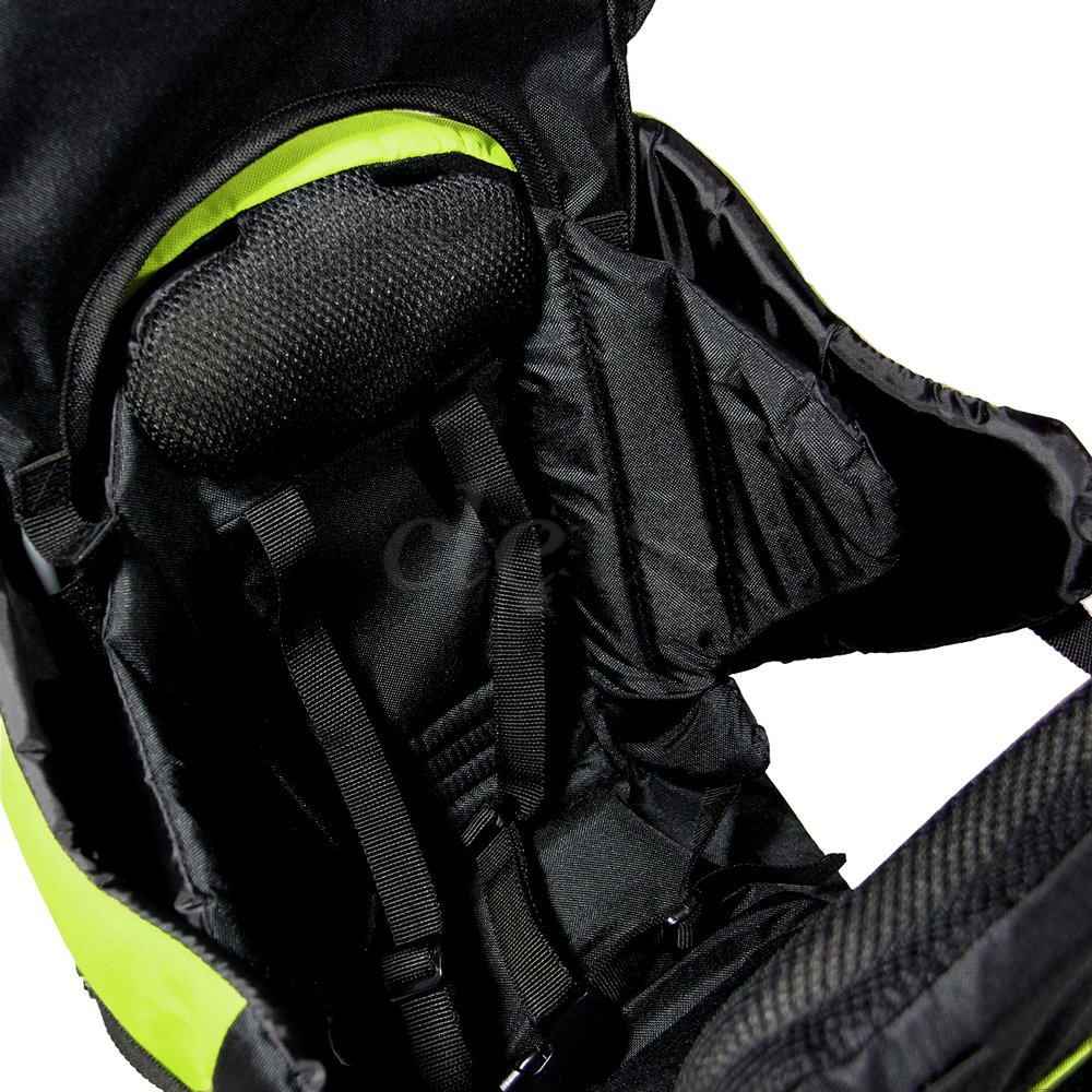 43a463c26af Clevr Deluxe Baby Toddler Backpack Cross Country Lightweight Carrier with Stand  Child Kid Sun Shade Visor