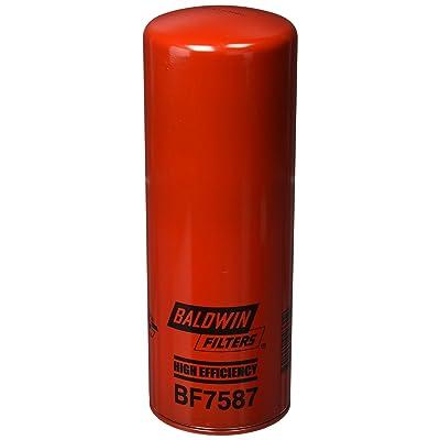 Baldwin BF7587 Heavy Duty Diesel Fuel Spin-On Filter: Automotive